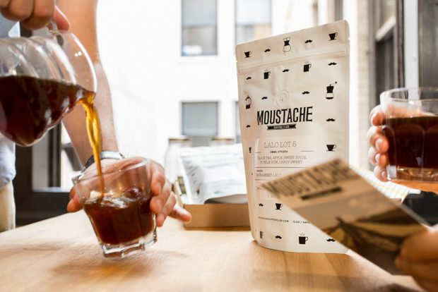 Moustache Coffee Los Angeles