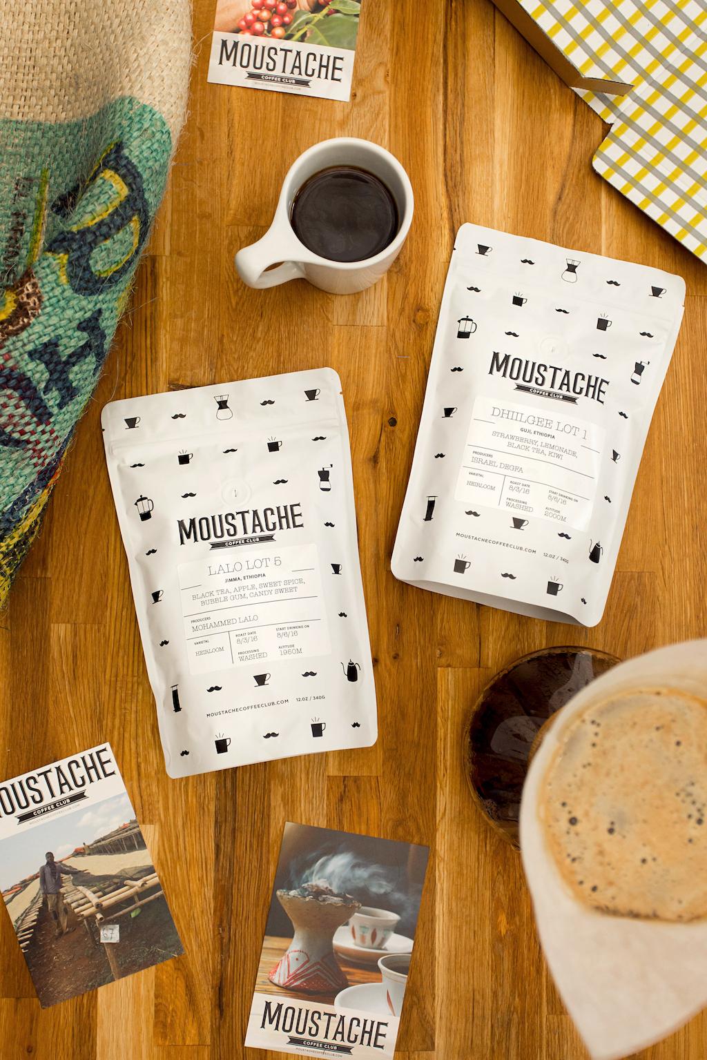 Moustache Coffee Los Angeles