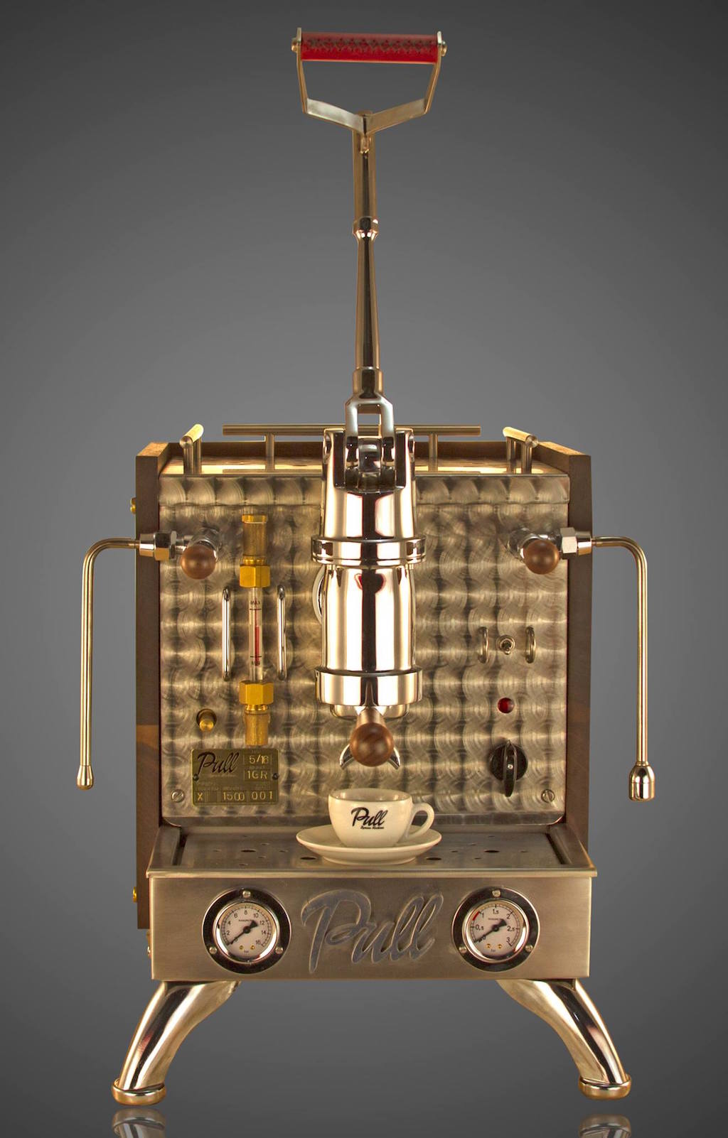 pull espresso lever