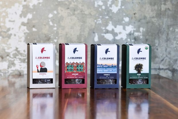 Design Details: La Colombe's New See-Through Coffee Boxes