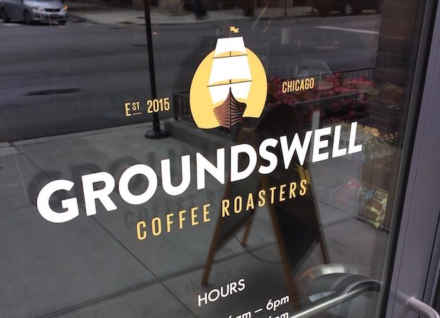 chicagos groundswell coffee surges into offsite roastery and new cafs - Expansive Cafe 2015