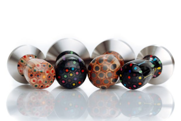 Watch These Pencils Metamorphosize into Beautiful Tampers
