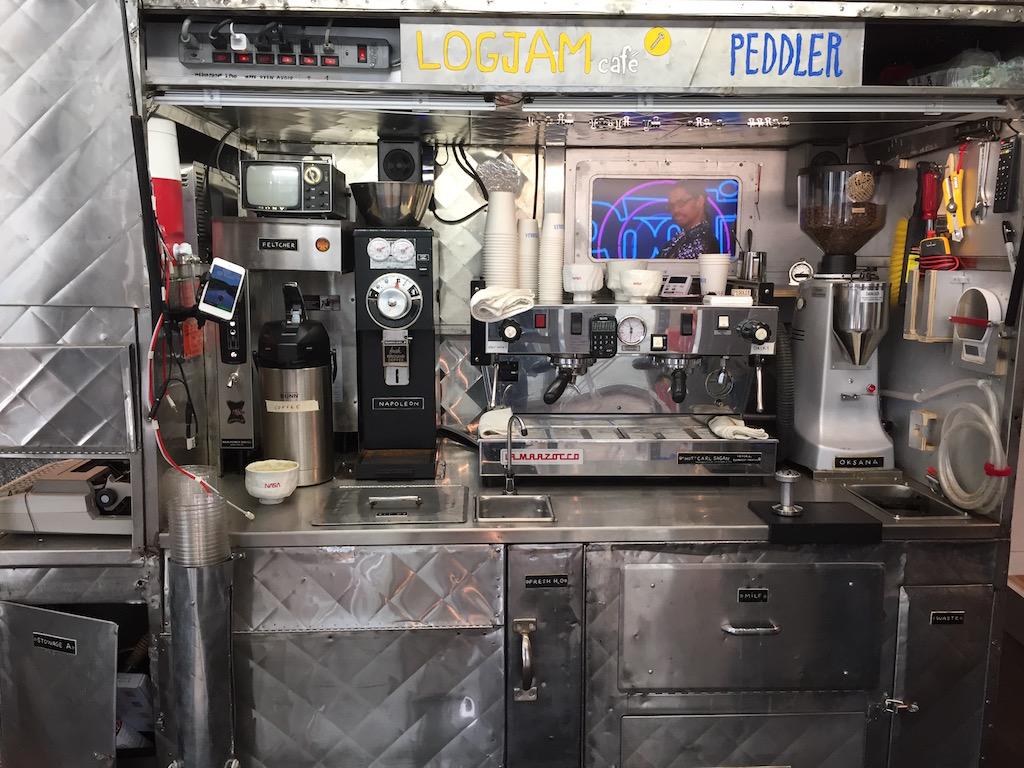 Tom Sachs Europa Logjam Cafe