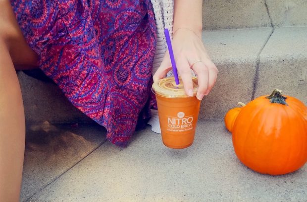 Yes, a Pumpkin Nitro Latte Now Exists