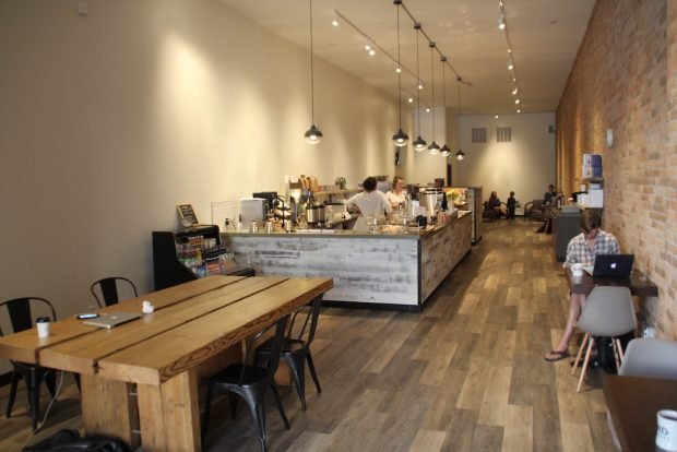 Rockford Coffee Roasters in Bozeman, Montana. Photo by Nick Brown.