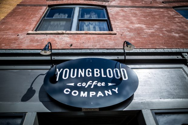 Young Blood Coffee Fargo North Dakota