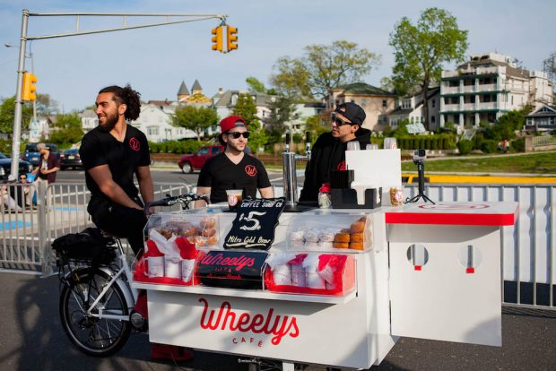 A Wheely's Cafe in Asbury Park, NJ. Photo: Josh Littlefield