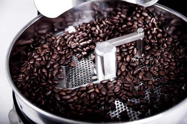 The Arc Coffee Roaster cooling tray