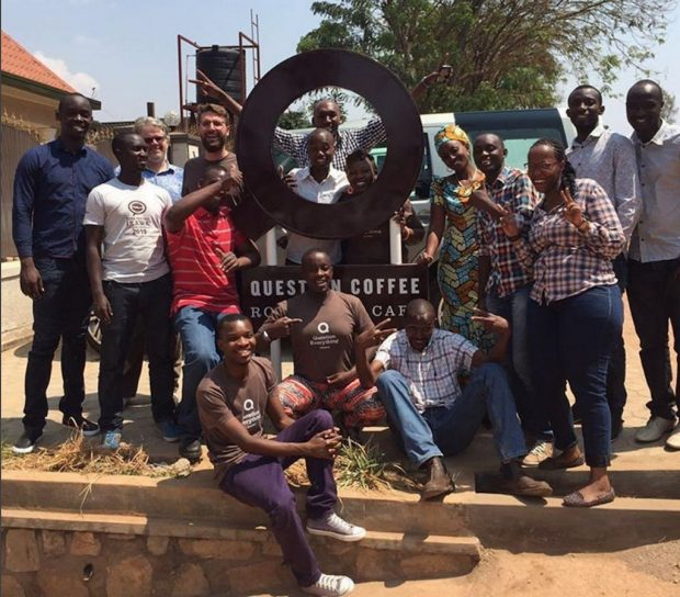 The Question Coffee team in Kigali. Instagram photo @dancoffeeroaster