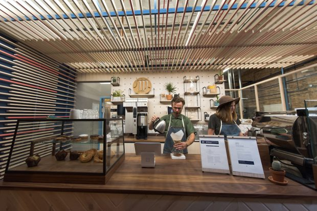 Metric Coffee Opens First Café in Chicago's 'Coffee Alley'