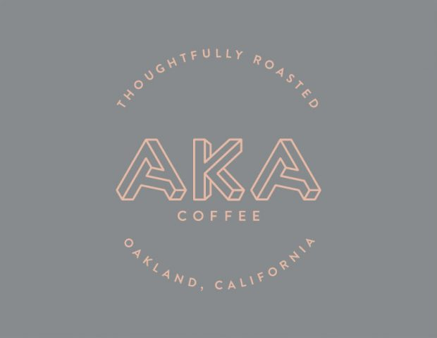 The new AKA Coffee logo, courtesy of AKA Coffee.
