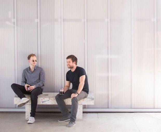 Jordan Rosenacker and Michael Shewmake of Atlas Coffee Club.