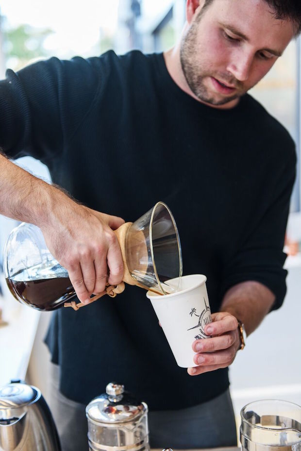 Michael Shewmake of Atlas Coffee Club. Photo by Craft & Caro