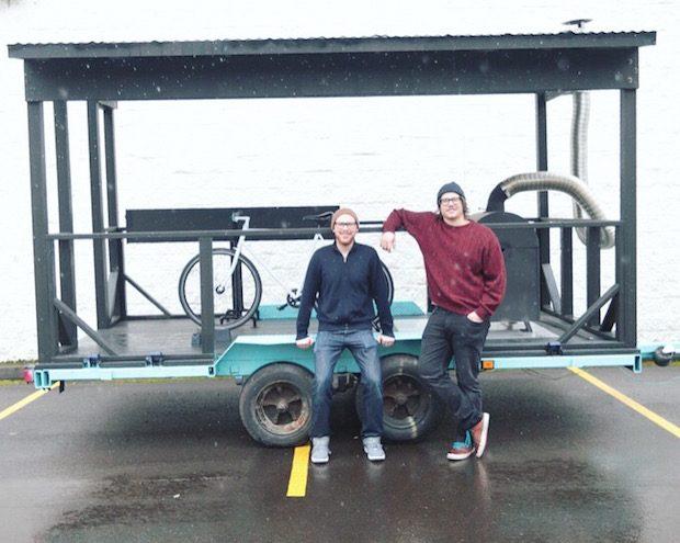 Kainos Co-Founders Austin Roberts and Matthew Boyden.