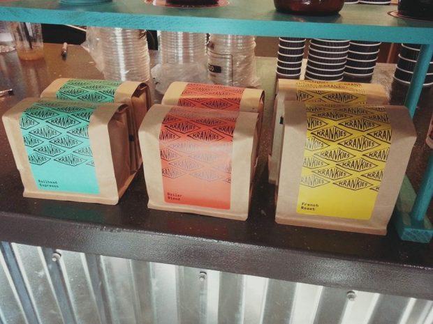 Krankies coffee at Urban Grinders