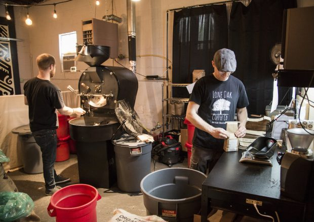 Lone Oak Coffee Company's new production roastery. All images courtesy of Lone Oak Coffee.