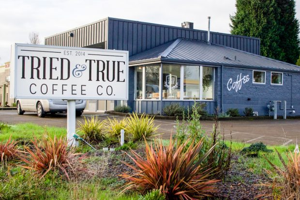 The new Tried & True Southside location in Corvallis. All images courtesy of Tried and True Coffee Company.