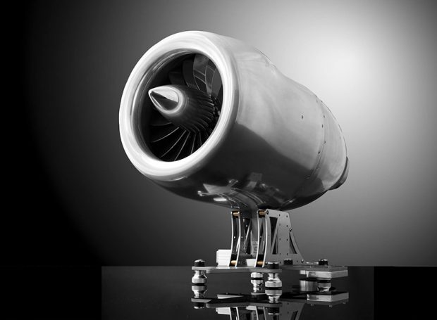 This Jet Engine Espresso Machine is Flying Around Out There