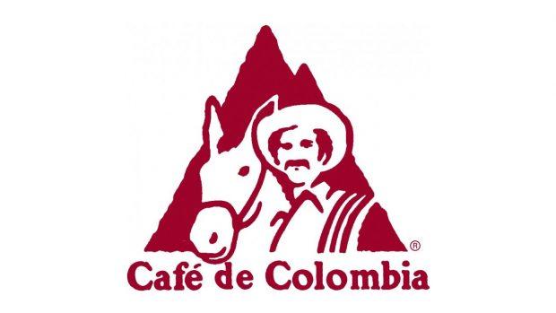 Café de Colombia logo.