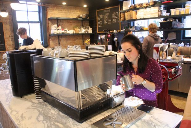 Porter coffee manager Jes Perkins. Daily Coffee News photo.