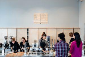 Blue Bottle coffee shop