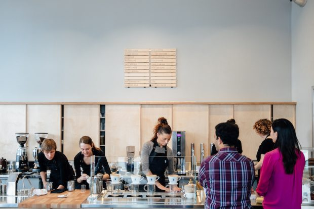 Blue Bottle Planning 5,000-s.f. Washington DC Café and Training Center