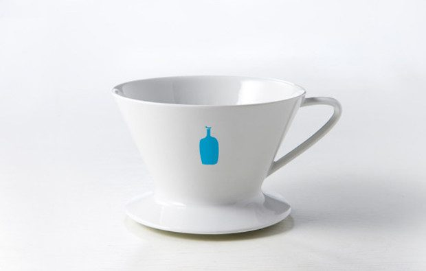 Blue Bottle Coffee pourover dripper