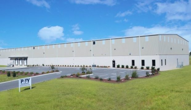 PBFY's new facility in Portland, Tennessee.