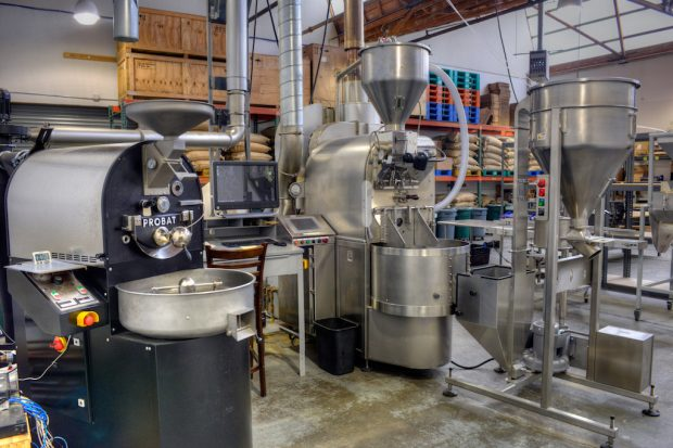 The Saturday, Feb. 25 session on roasting will be held at Bay Area CoRoasters (pictured). Photo via www.corocoffee.com