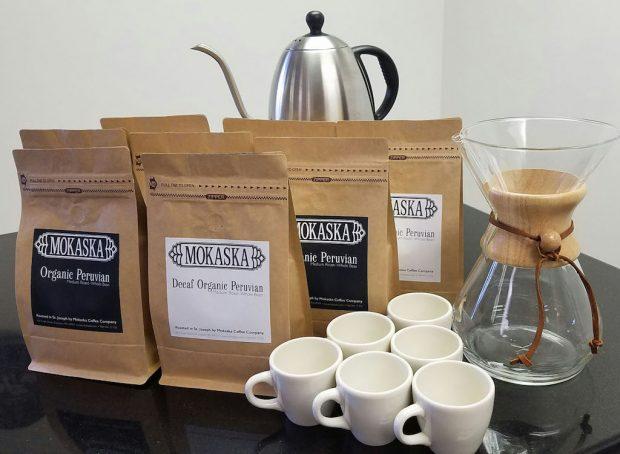 Mokaska Coffee St Joseph