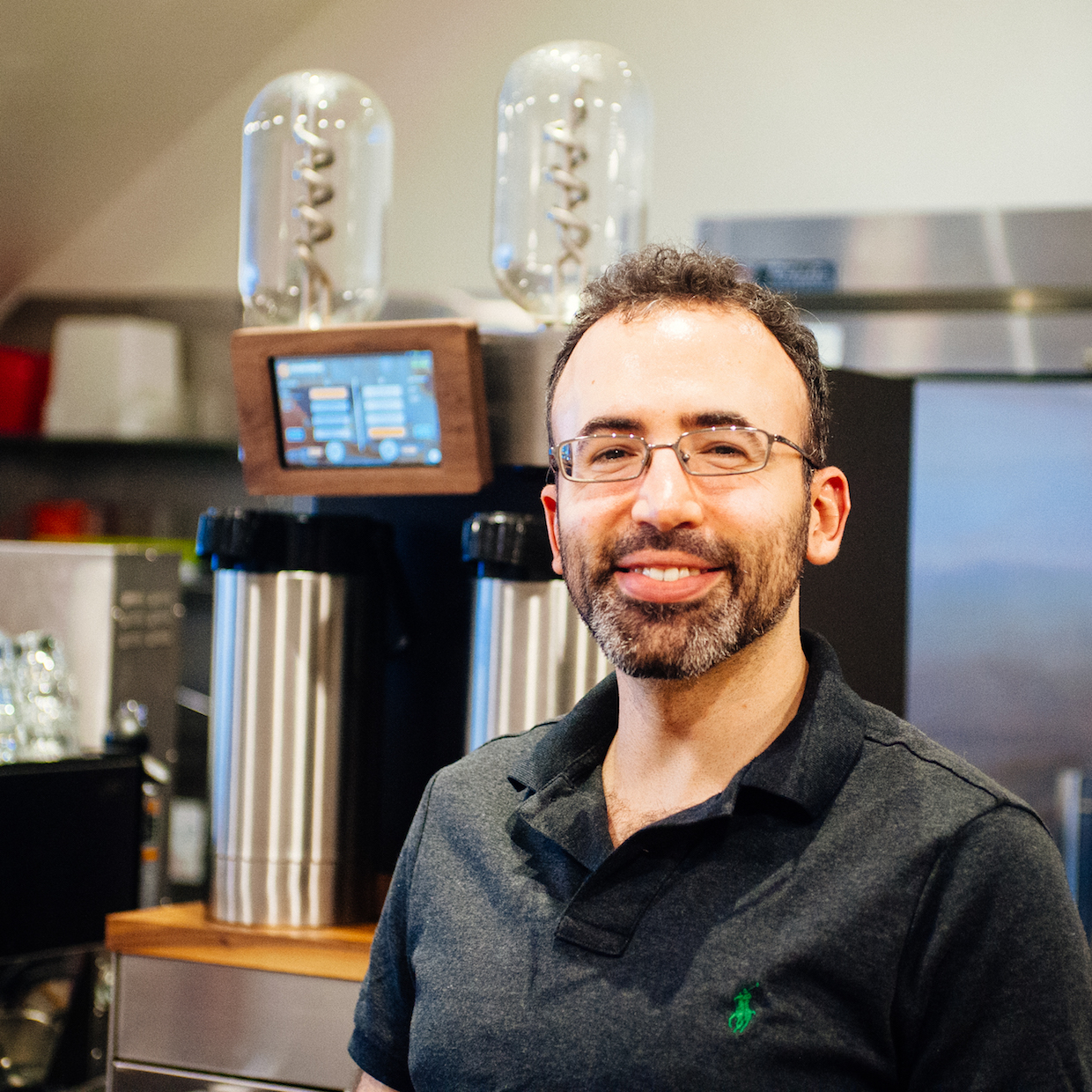 Voga Coffee Co-Founder Josh Avins