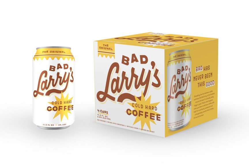Renderings of the product courtesy of Bad Larry's Cold Hard Coffee