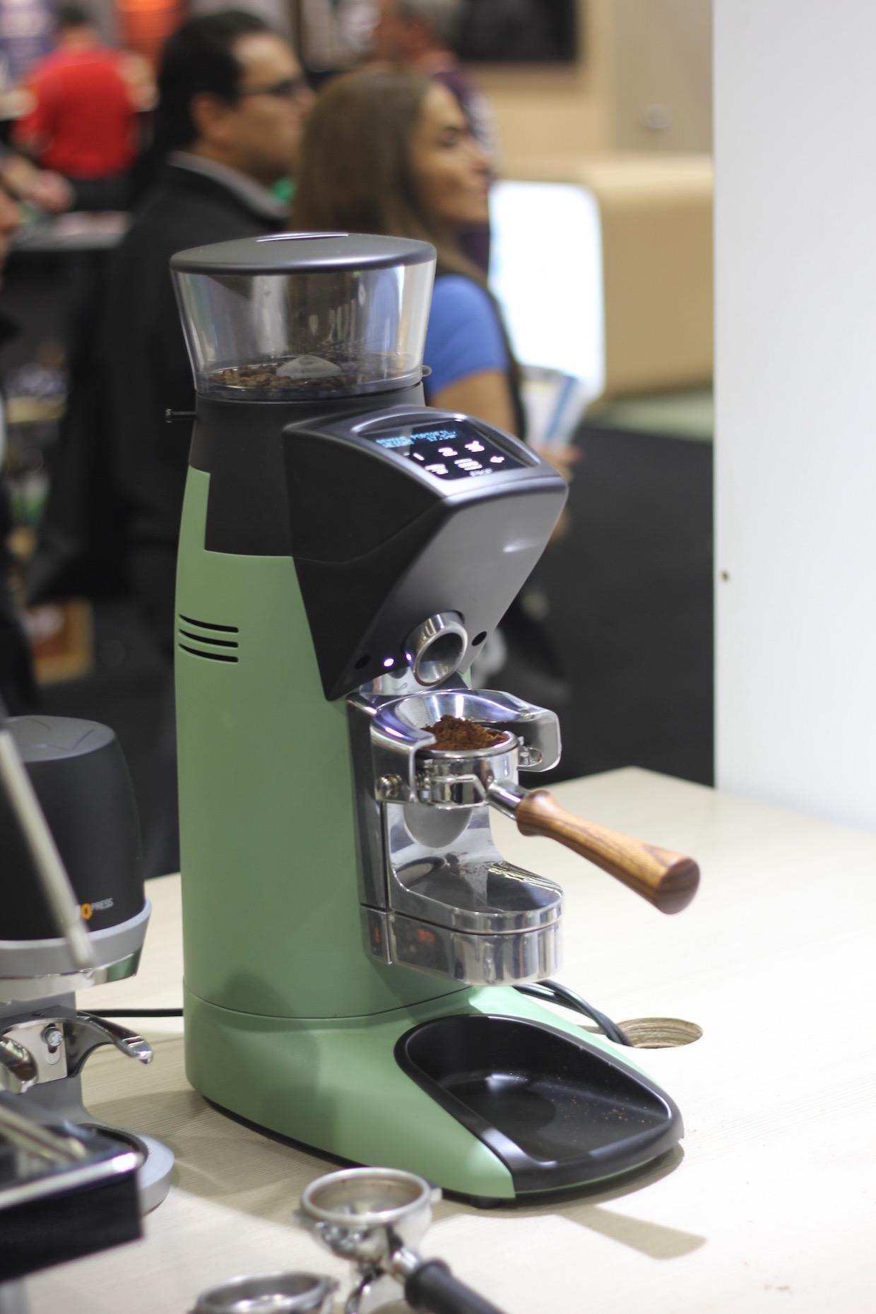 The Compak PKF. Photo by Nick Brown/Daily Coffee News.