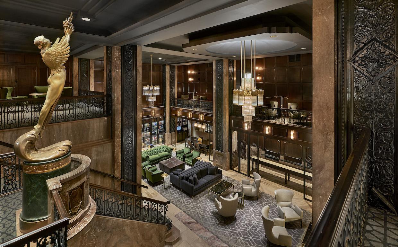 Hotel Phillips lobby