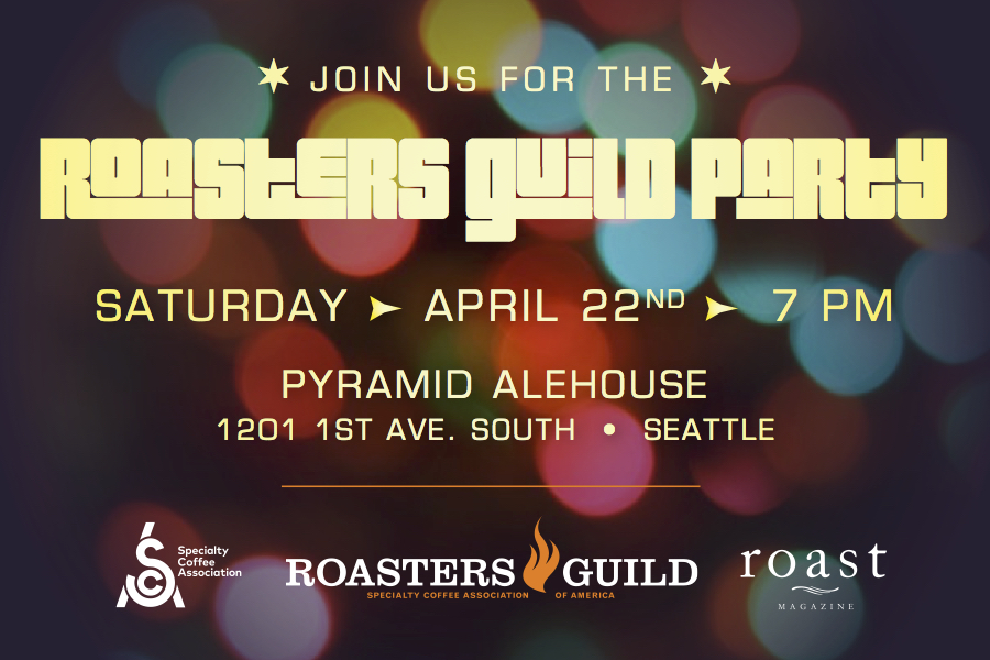 Roasters Guild party