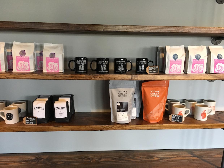 compass coffee akron