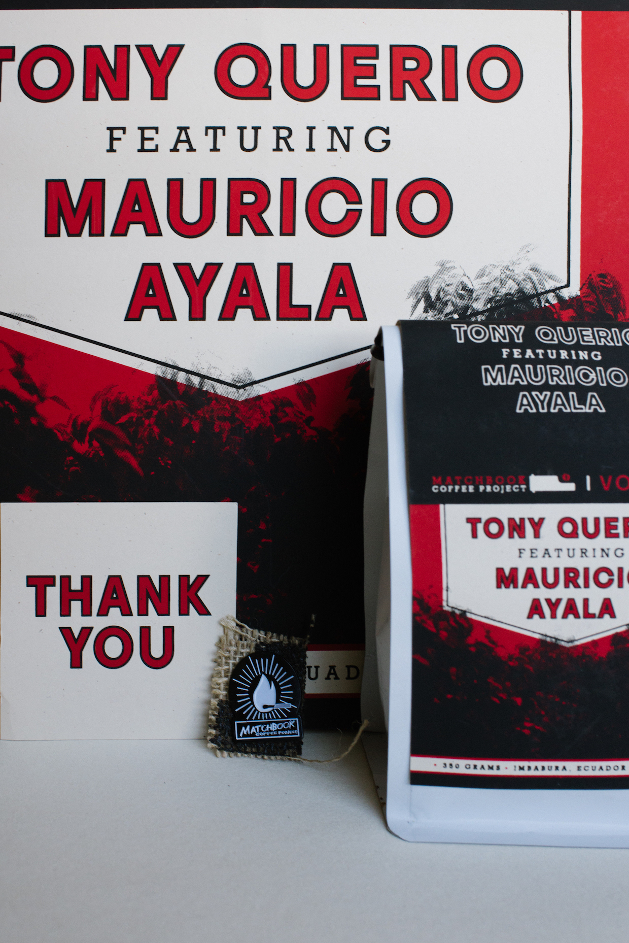 A Matchbook release featuring roaster Tony Querio.