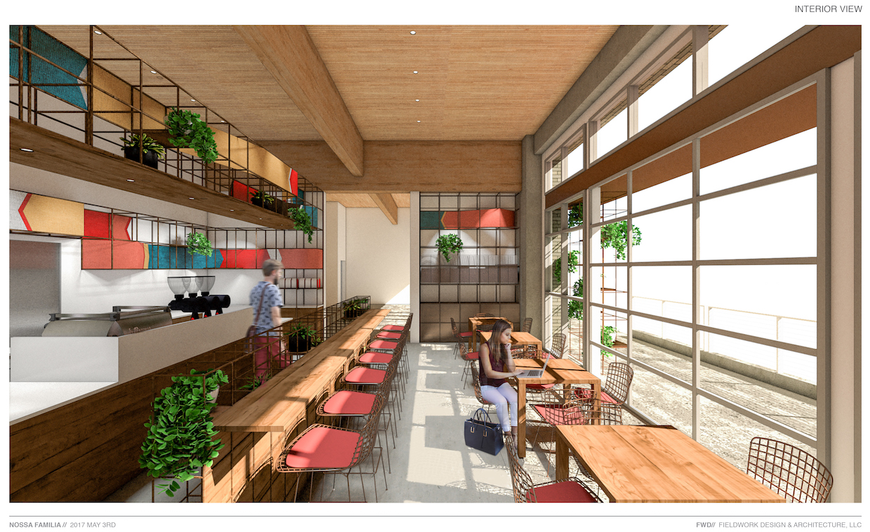 Guatemala shop rendering.