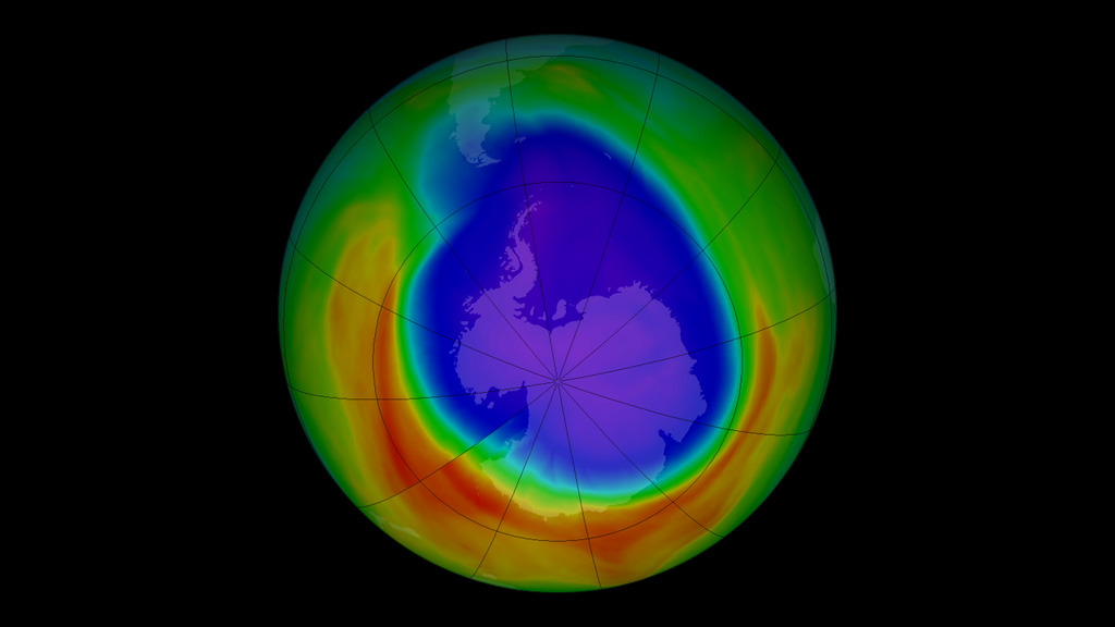 ozone layer nasa