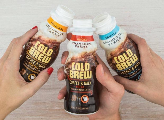 Dairy Maker Shamrock Farms Makes National RTD Cold Brew Push