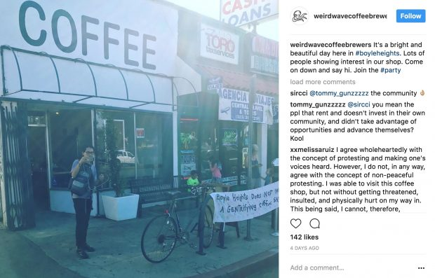 New LA Coffee Shop Weird Wave at Center of Gentrification Battle in Boyle Heights