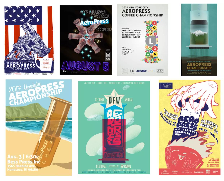 Aeropress posters