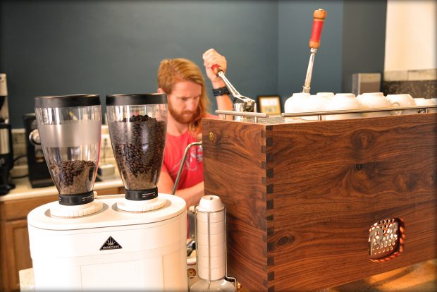In NC, Full Bloom Coffee Roasters Blossoms with First Cafe