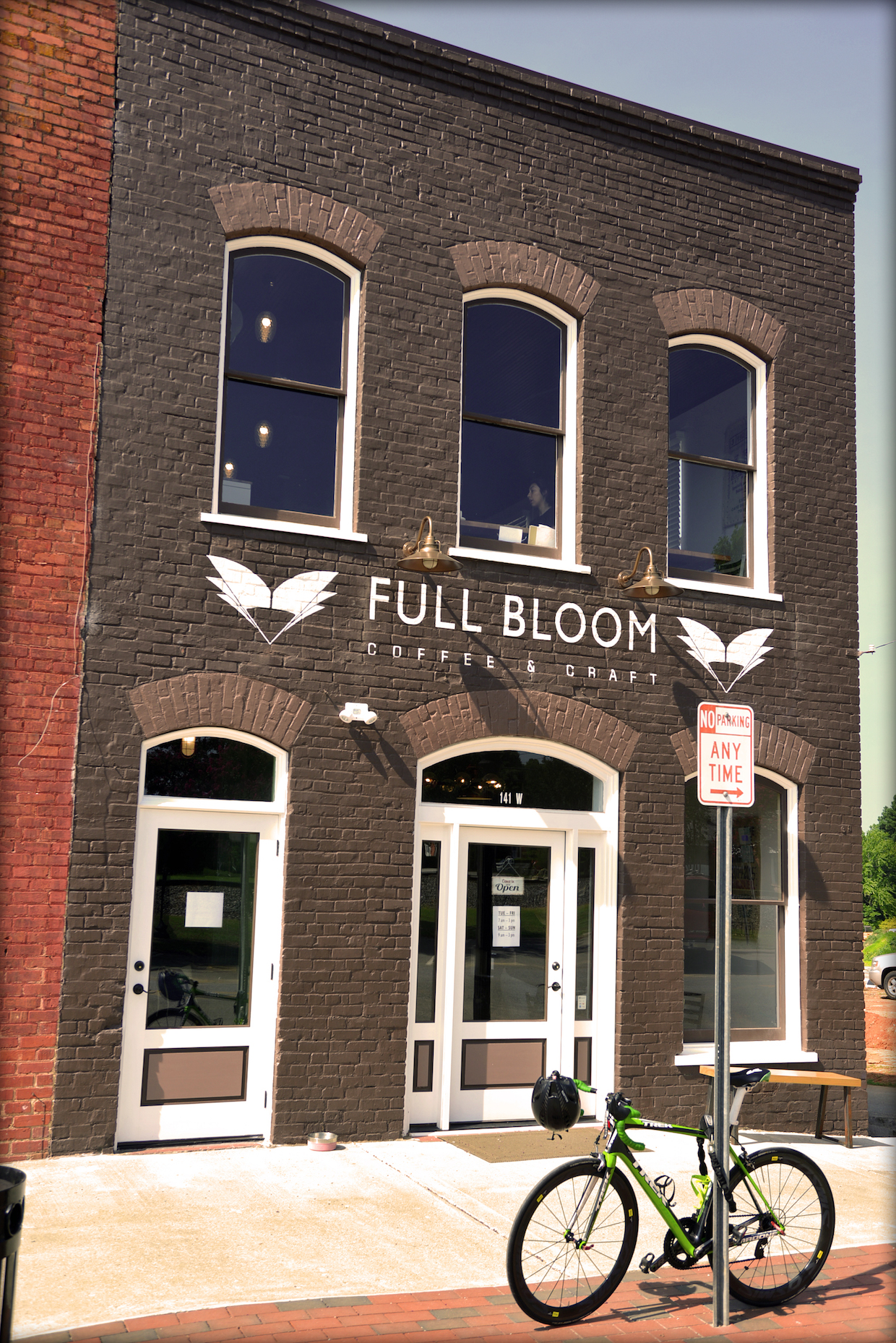 in nc, full bloom coffee roasters blossoms with first cafe | daily