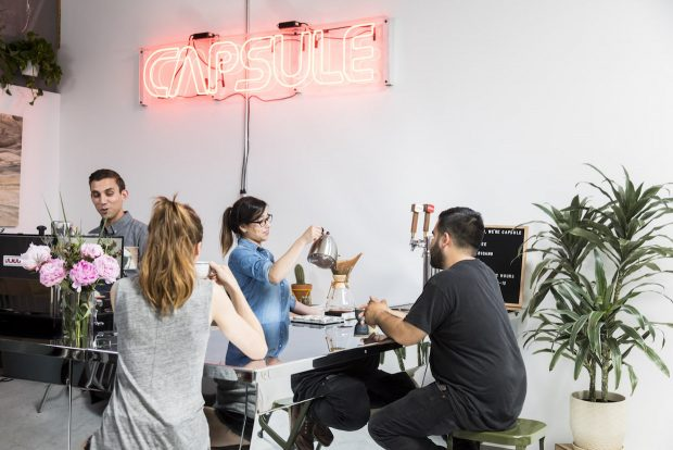 Capsule MFG Launches Upgraded and Expanded Line of Modular Coffee Bars