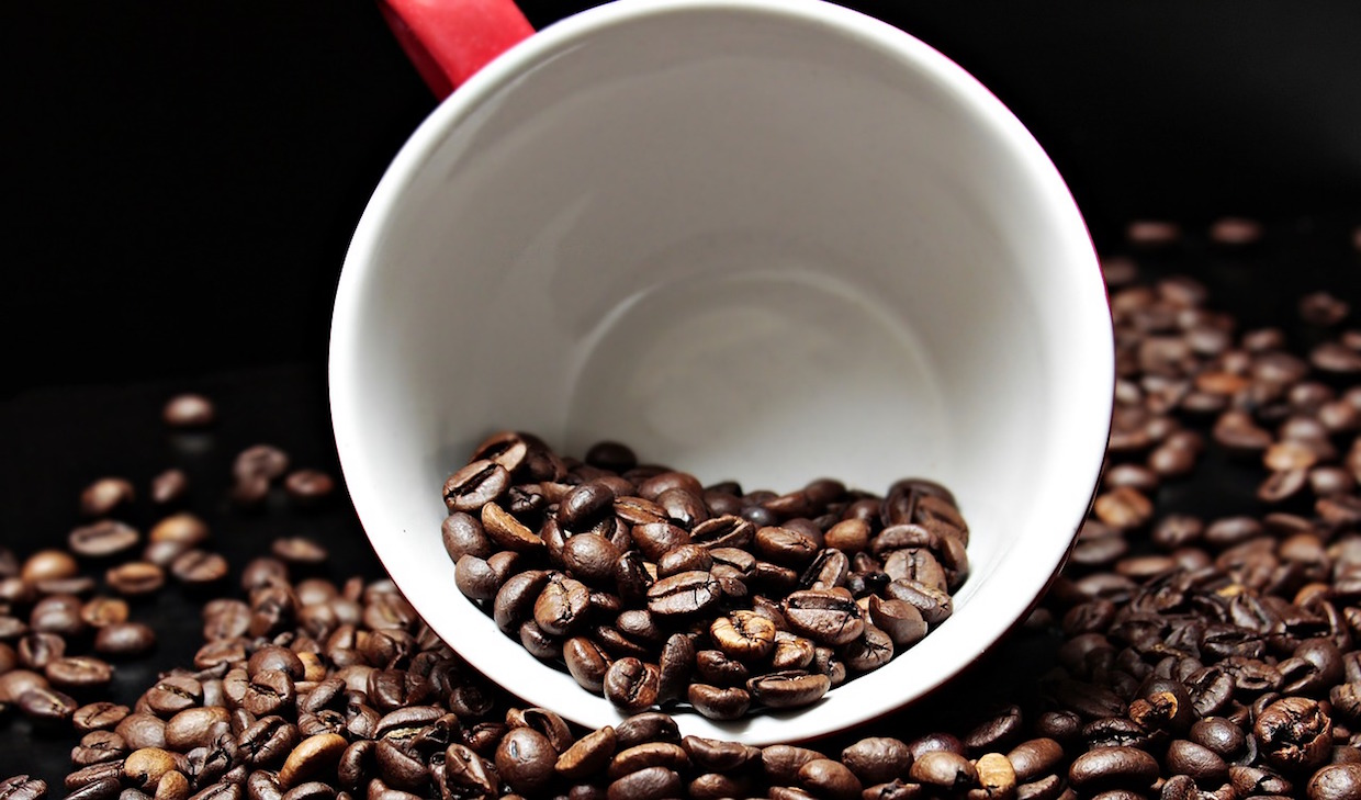 coffee roasted cup