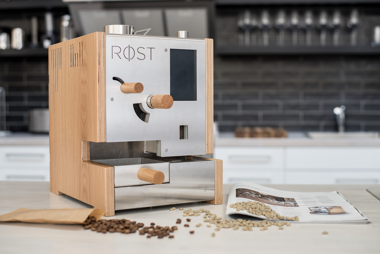 Stylish Røst Sample Roaster Enters Production Following World of