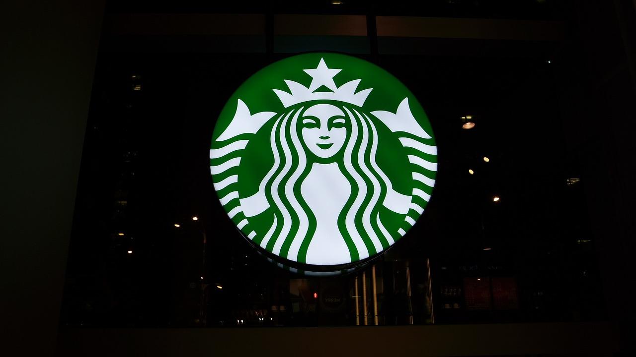 Starbucks logo store