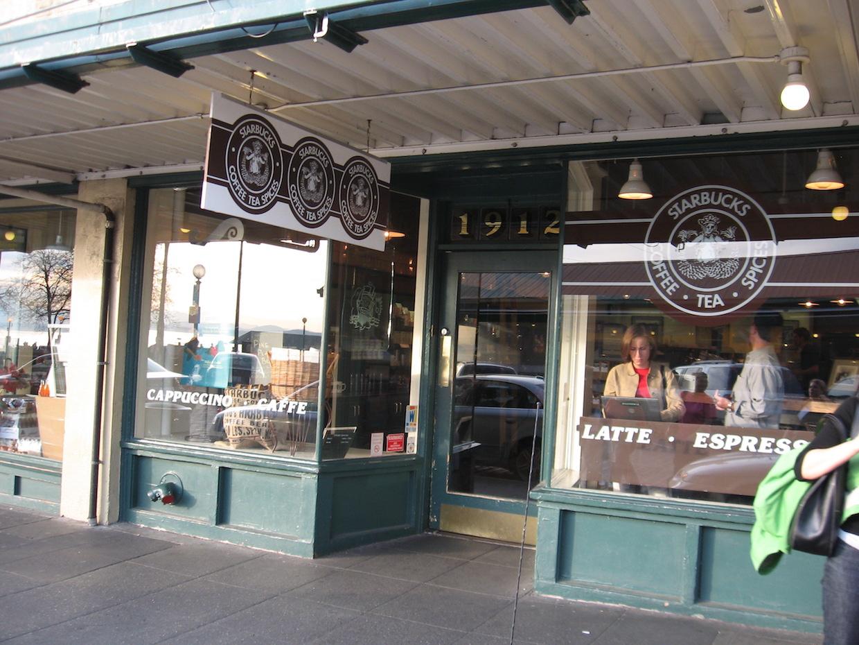 starbucks original cafe