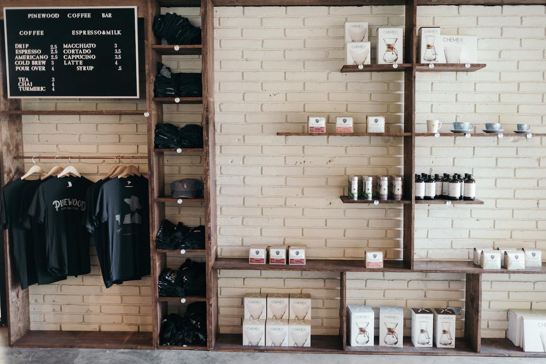 Pinewood Roasters coffee Waco
